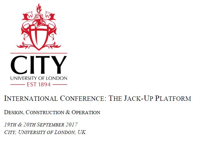 Geo presents paper at the 16th International Conference - The Jack-Up Platform